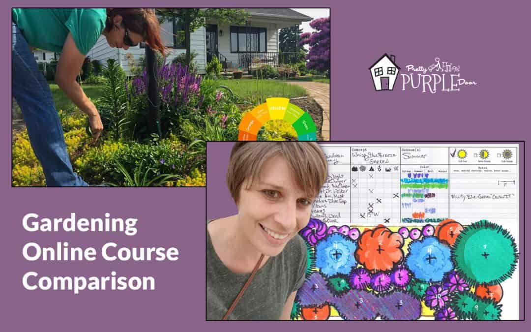 Gardening Online Course Comparison: Garden Planning 101 vs. Design your 4-Season Garden Course