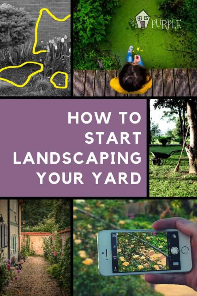 Learn 4 simple, actionable steps to improve your existing landscape, even if you're a beginner at gardening and don't know where to start.