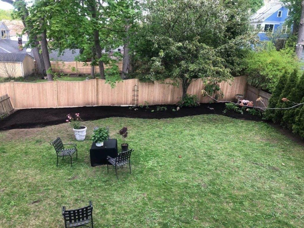 Melissa's Backyard Garden in Progress