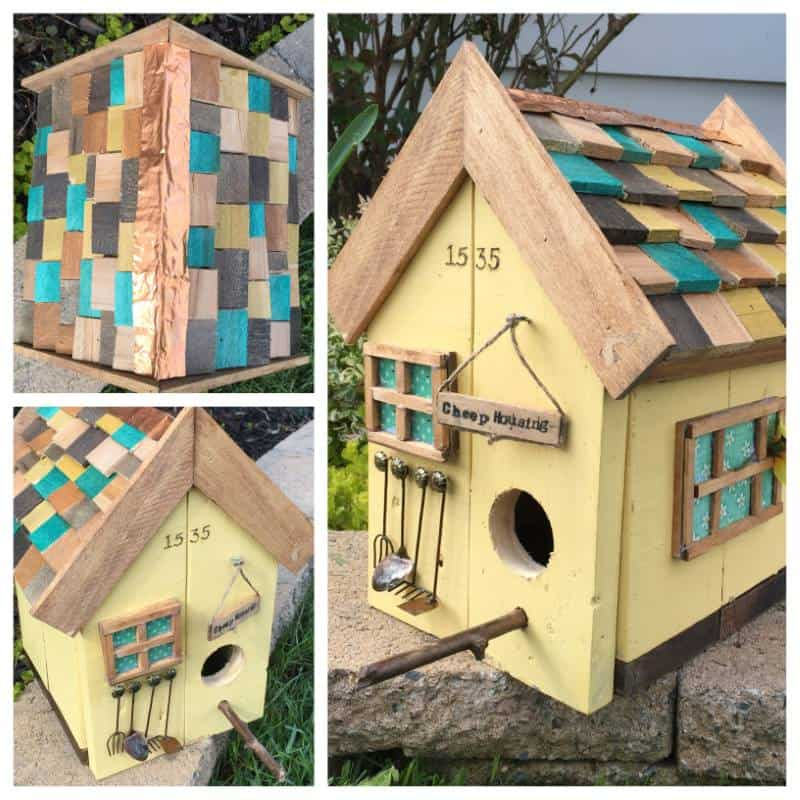 Cheep Housing DIY Bird House