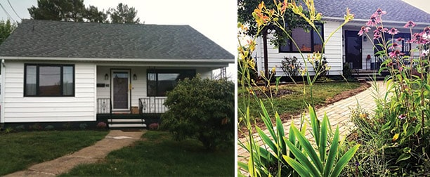 My house before & after