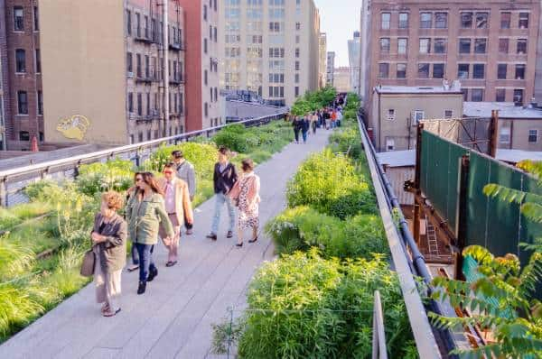 Natural Design Style - High Line Park Manhattan